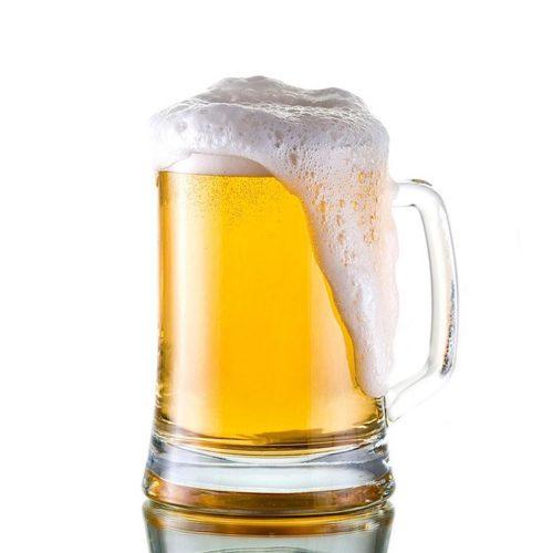 Bedrukte bierpullen